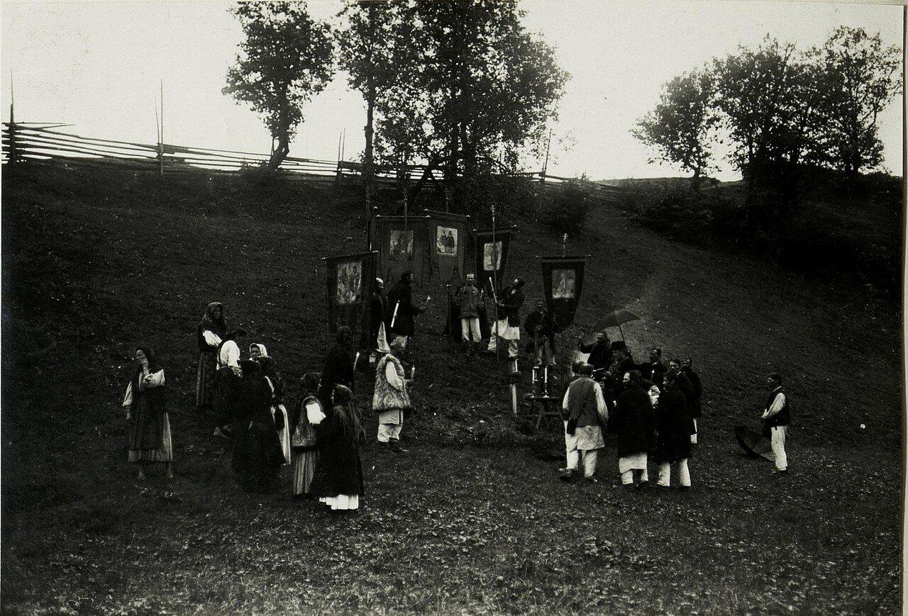 Галиция. После русинской церемонии освящения в Головецко