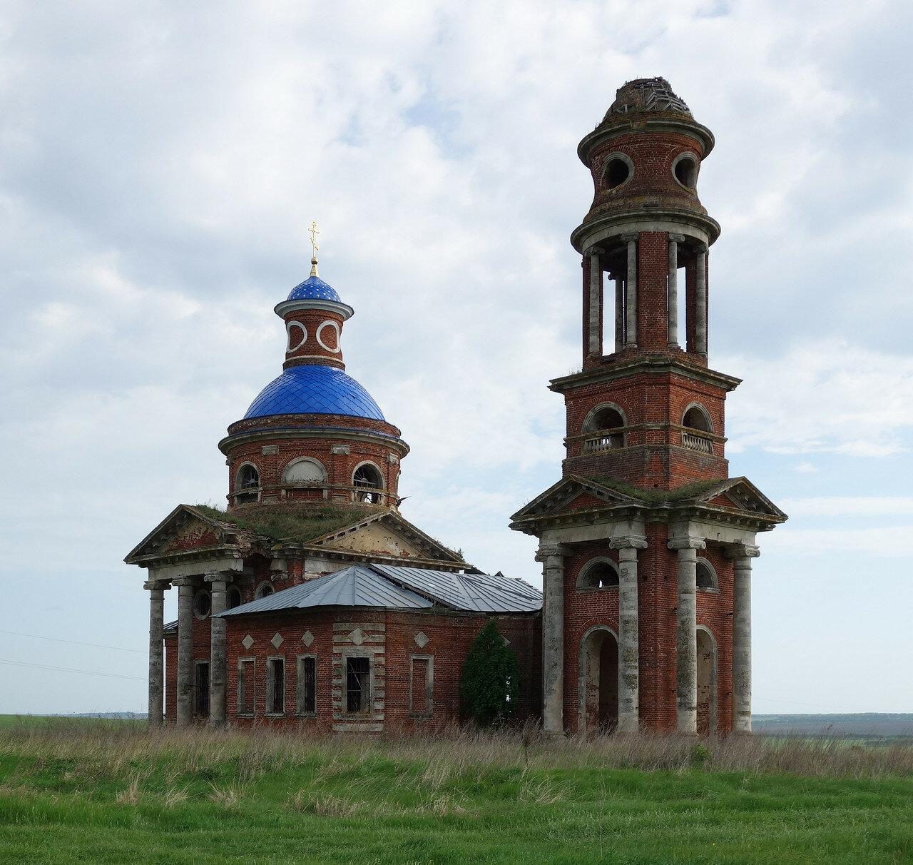 храм в урочище Кузьминки