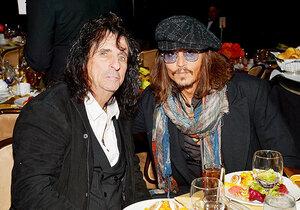 Джонни Депп и Элис Купер создали рок-группу