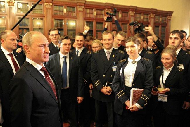Путин в Горном университете, 26 января 2015.jpeg