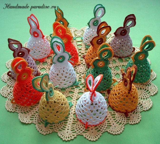 Схема пасхального зайца