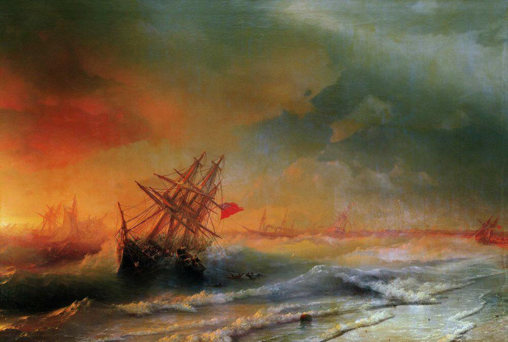 Буря над Евпаторией. 1861.jpg