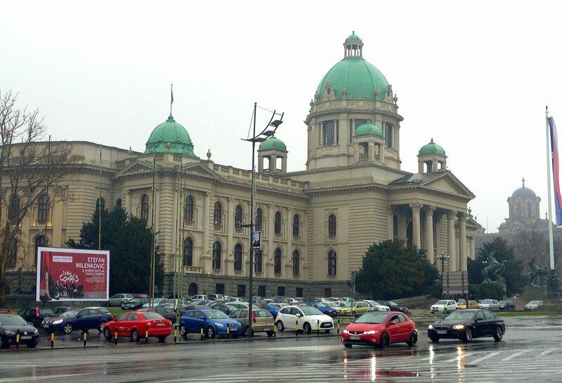 Белград в декабре 2014