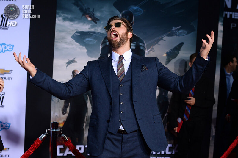 """World Premiere of """"Captain America: The Winter Soldier"""" - Arrivals"""