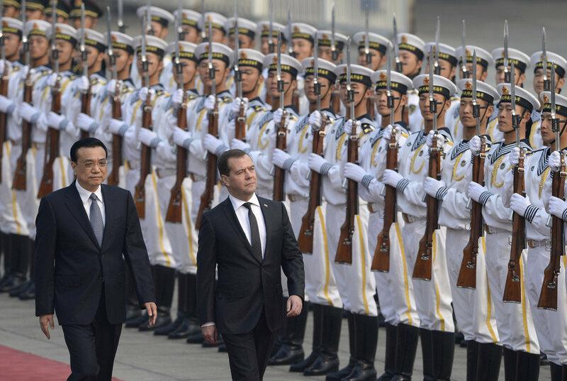 Фотографии визита Дмитрия Медведева в Пекин, Китай