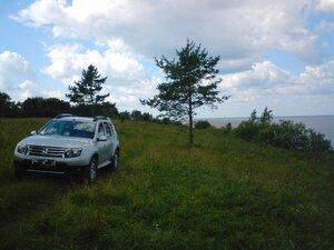 На берегу озера Ильмень в Новгородской области