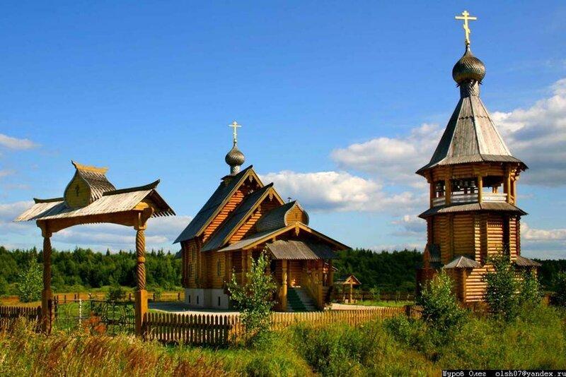 Молоково - Старообрядческая церковь Покрова Пресвятой Богородицы (2009)