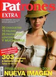 Журнал Patrones №229 2005 Extra