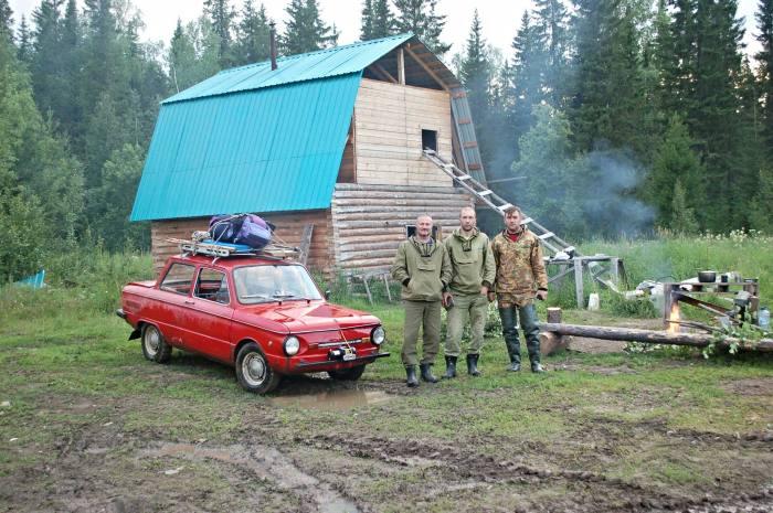 Покорение русского бездорожья на Запорожце