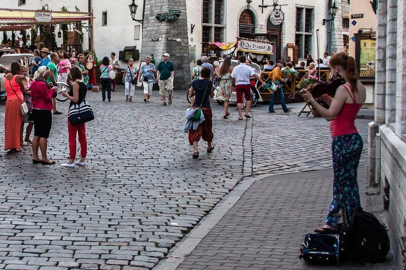 Уличная скрипка
