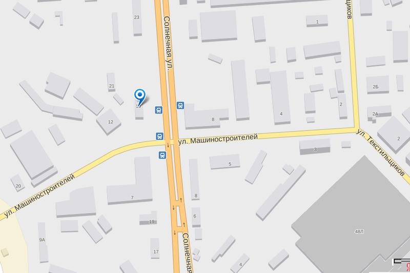 Схема проезда в г. Воронеж