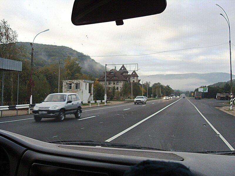 На дороге, у Горячего Ключа ... SDC15367.JPG