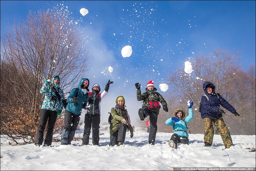 Крымская зима