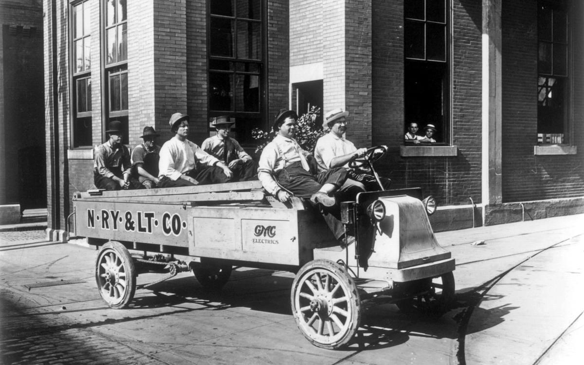 Специализированные транспортные средства начала 20-го века на снимках американских фотографов (12)