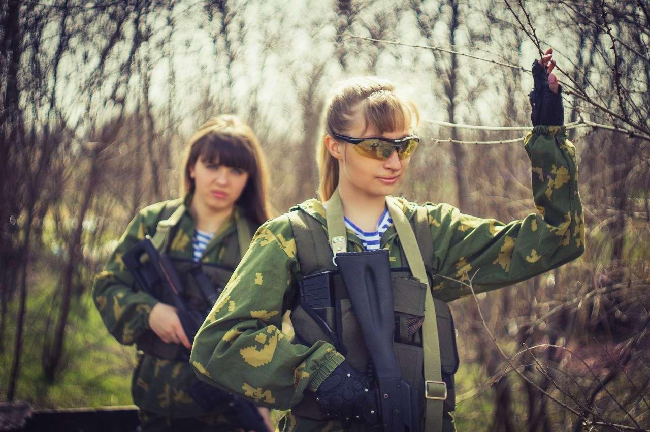Боевые подруги: Фотосессия в стиле Military - лазертаг клуб - Отряд 61 - (Ростов-на-Дону) (4)