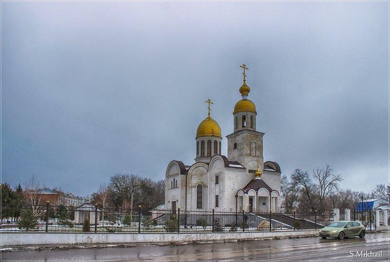 Храм Александра Невского в Прасковее