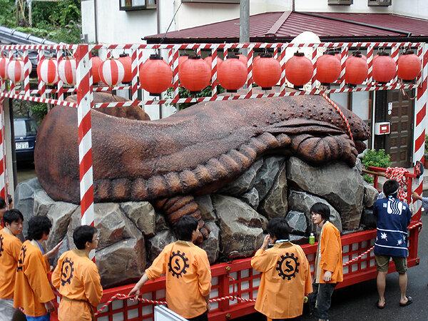 Японская исполинская саламандра