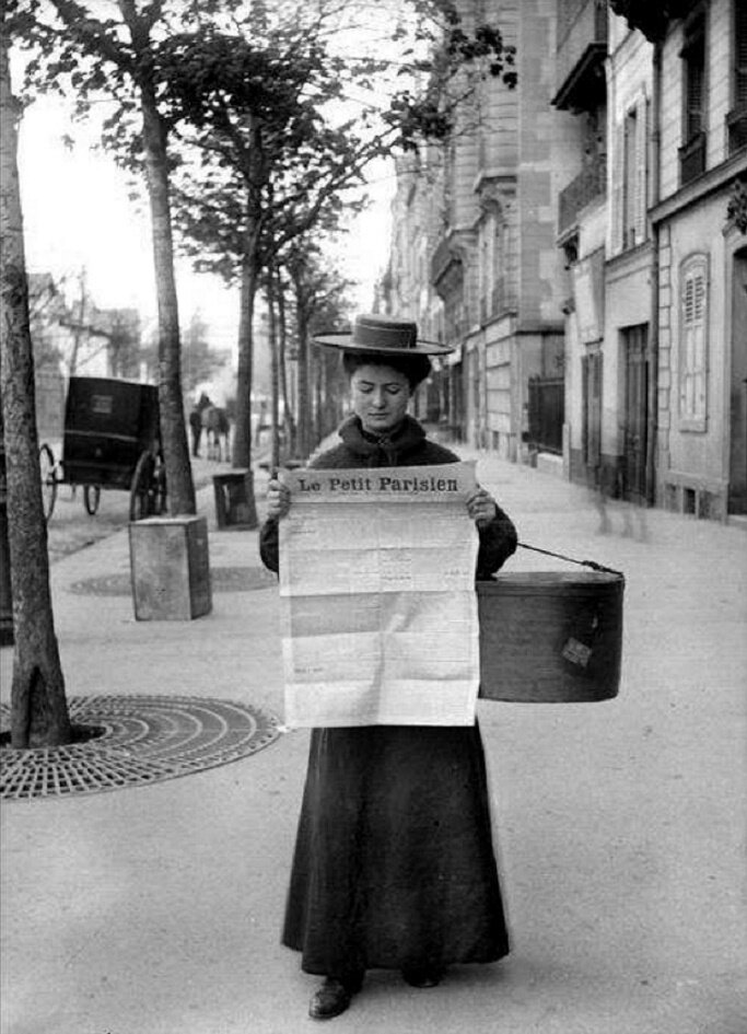 1899. Парижанка