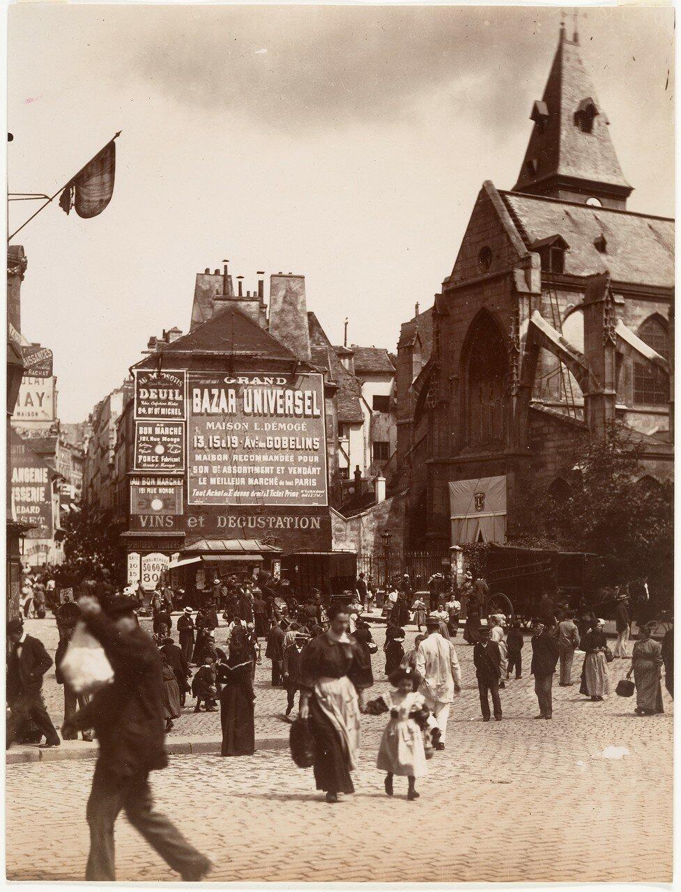 1900. Улица Муфтар