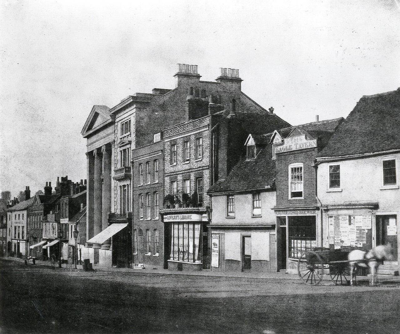 1845.Улица Лондона