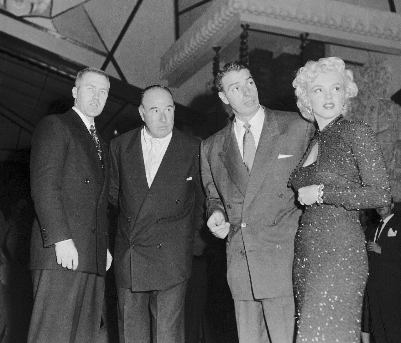 Marilyn Monroe and Joe DiMaggio in Tokyo