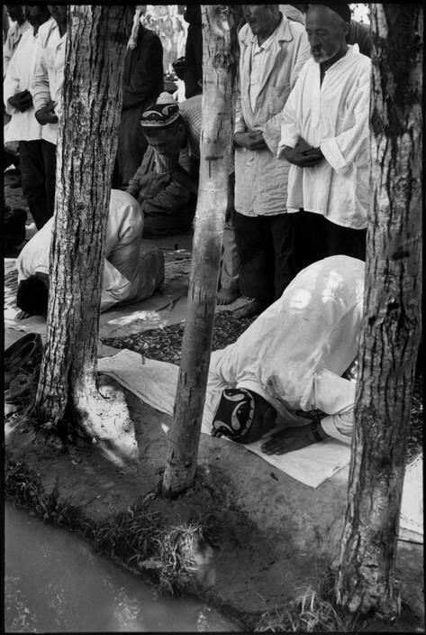 1954. Узбекистан. Маргилан. Пятничная молитва
