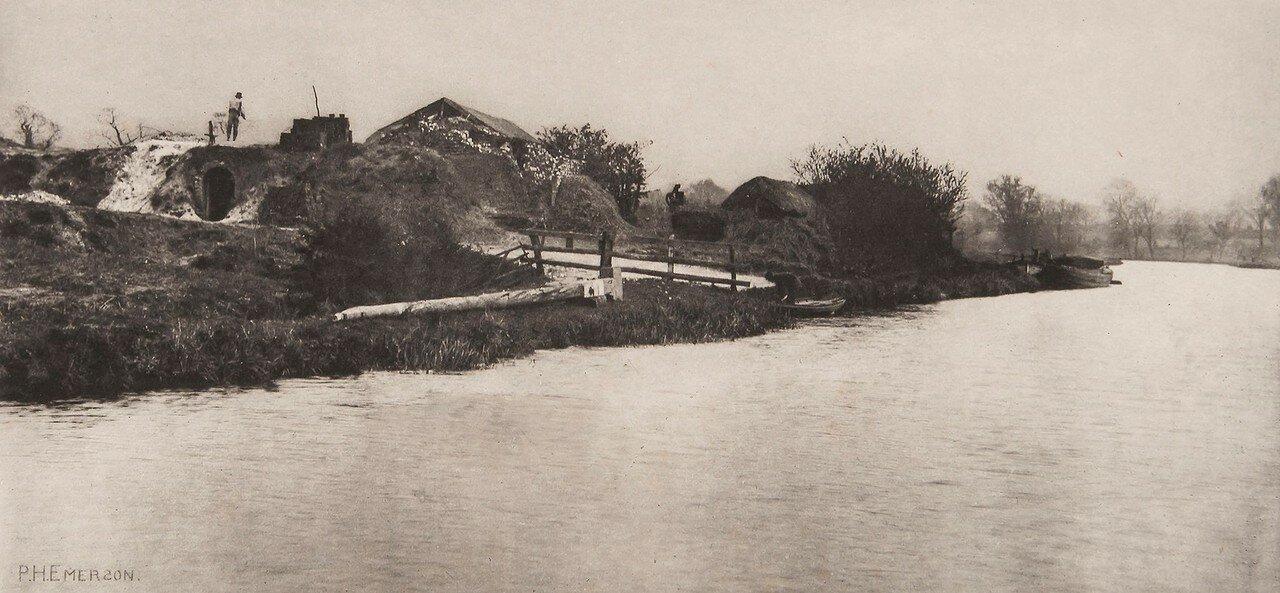 16. Кирпичное производство на реке Буре