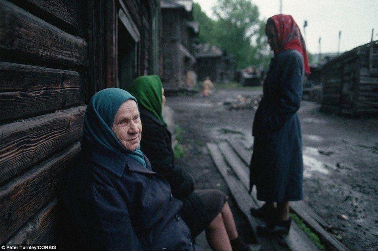 1991. Новокузнецк. Старухи
