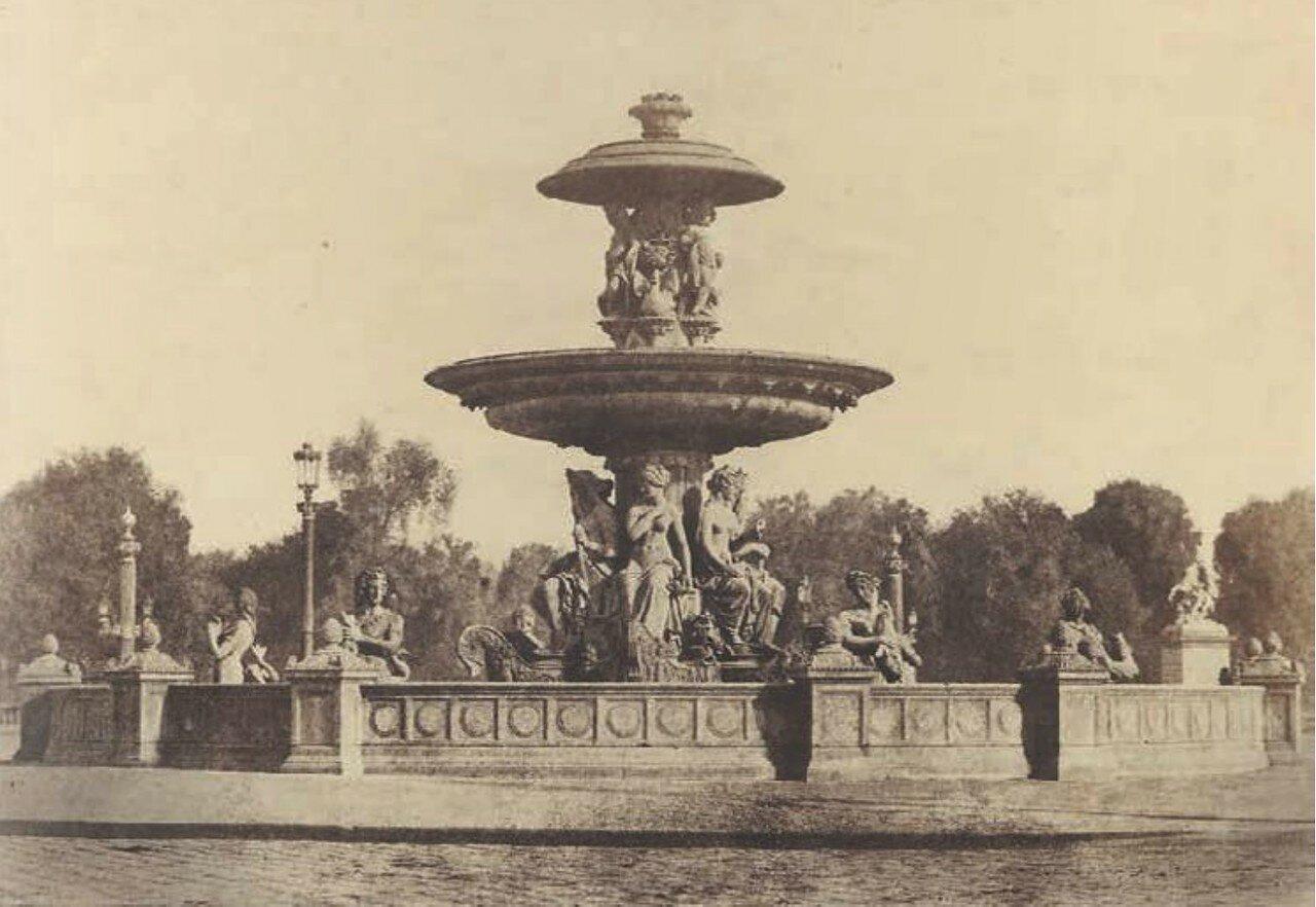 1853. Фонтан на площади Согласия