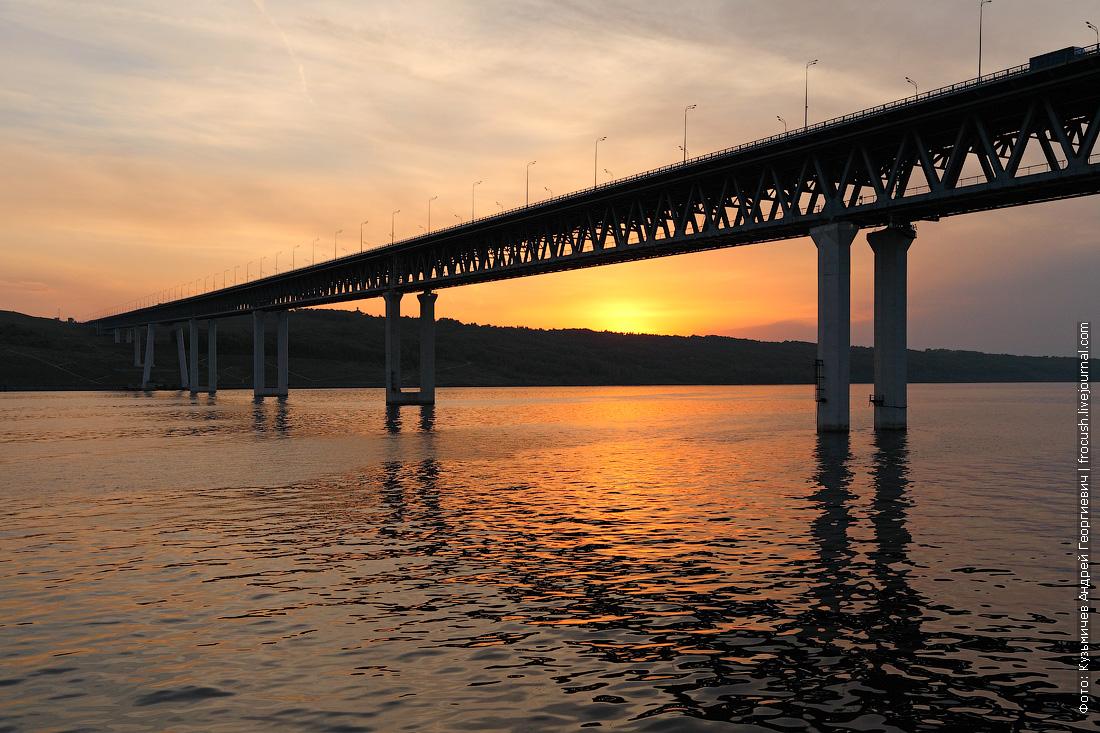 Ульяновск. Президентский мост (автомобильный)