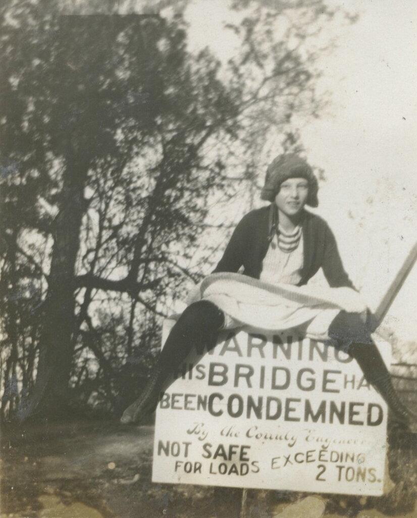 THIS BRIDGE CONDEMNED