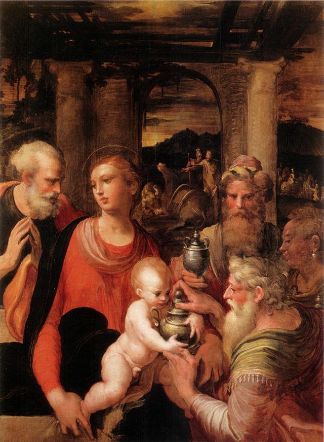 Parmigianino,_adorazione_dei_magi,_taggia ок. 1529.jpg