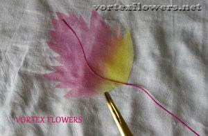 Мастер-класс. Хризантема из ткани «Ягодка» от Vortex  0_fbf8c_4ca1e7c7_M