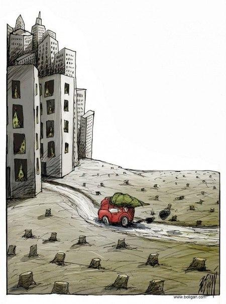 Карикатурный сюрреализм