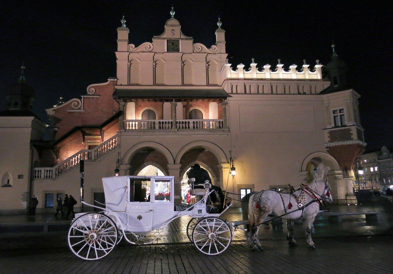Белоснежное рождество в Кракове