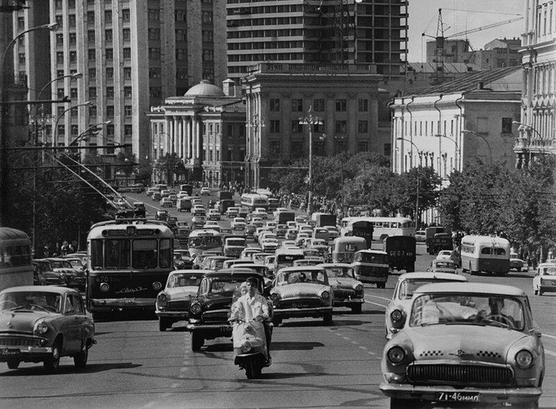 Наум Грановски Проспект Маркса, 1960.jpg