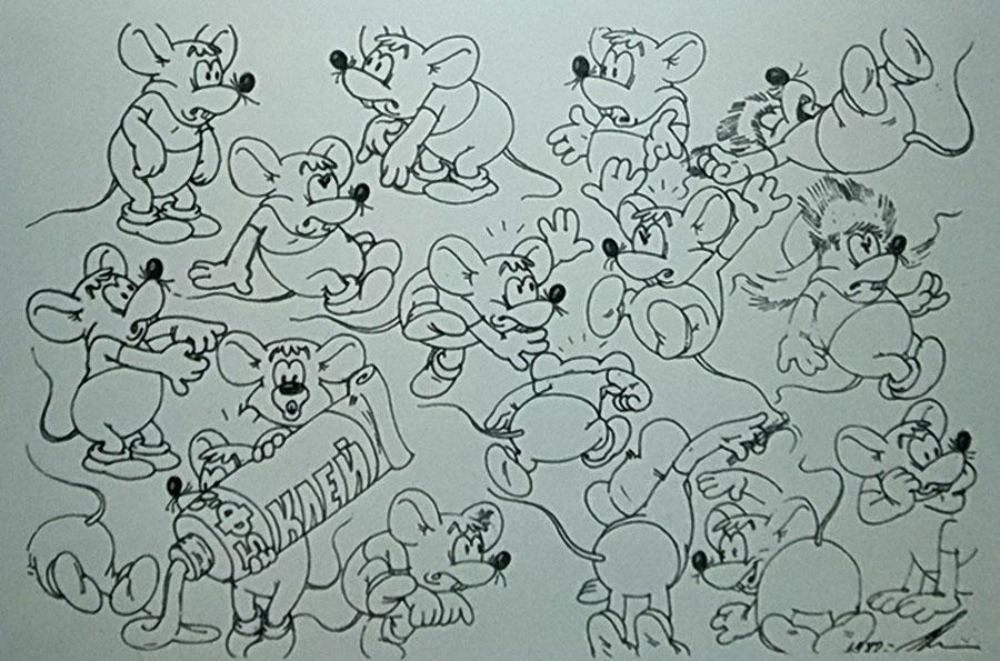 Как создавался мультфильм Приключения кота Леопольда