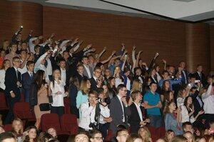 1 сентбря 2015 года - Посвящение в студенты