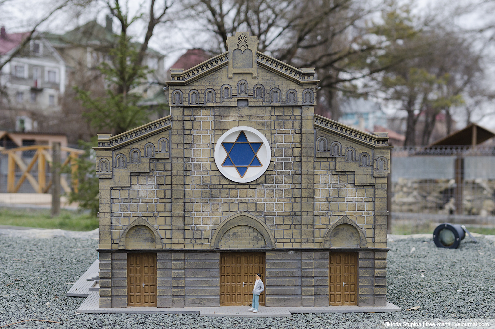 Синагога Егия-Капай в Евпатории. Бахчисарай, парк миниатюр.