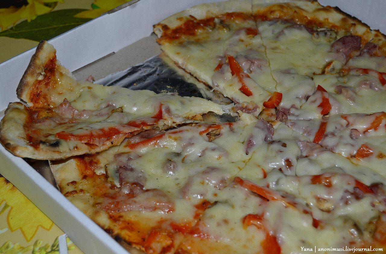 Пицца на завтрак с кафе Сели и Съели. Гомель