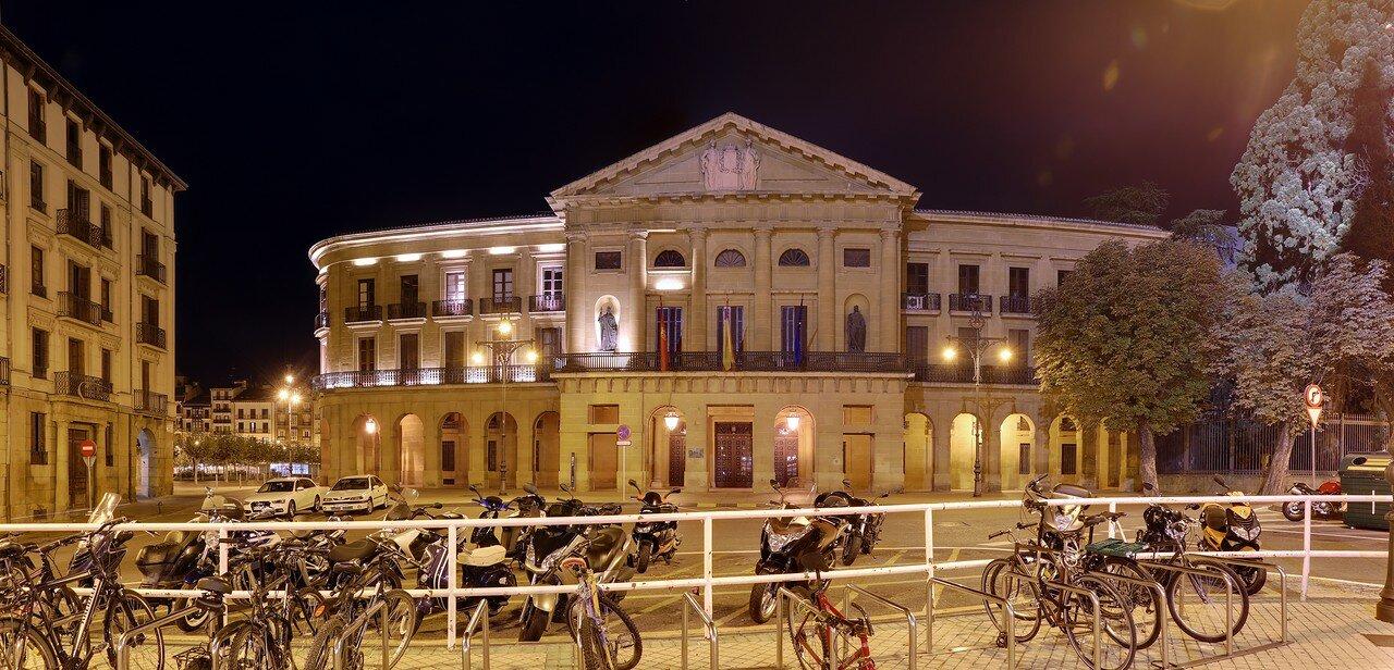 Pamplona. The Palace of Navarre (Palacio de Navarra, Pamplona)