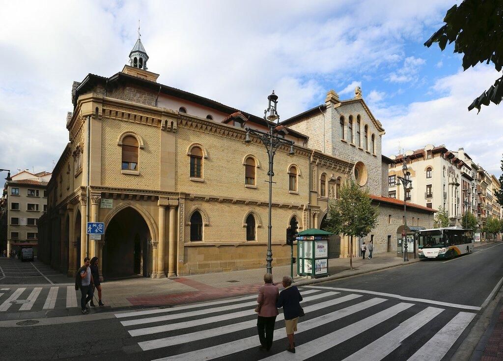 Памплона. Церковь Святого Николая (Iglesia de San Nicolás)