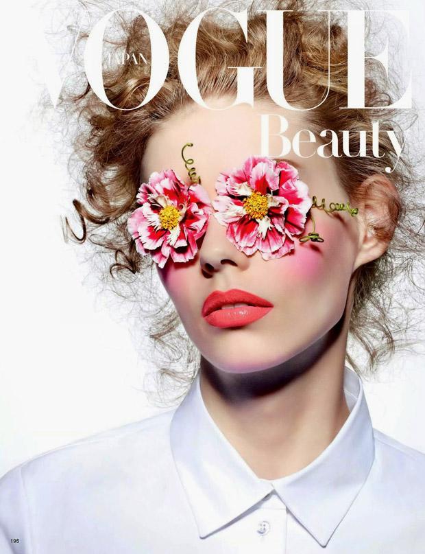 Ондрия Хардин (Ondria Hardin) в журнале Vogue Japan (5 фото)