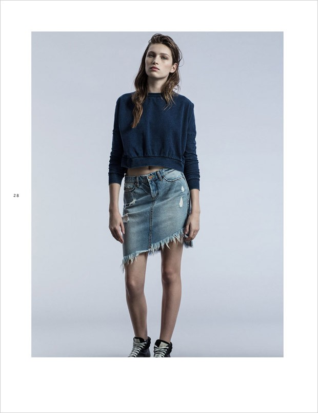Лиз Кеннеди (Liz Kennedy) в рекламной фотосессии для Blank NYC
