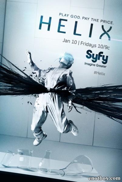 Спираль / Helix - Полный 1 сезон [2014, WEB-DLRip | WEB-DL 1080p] (LostFilm | AlexFilm | NewStudio)