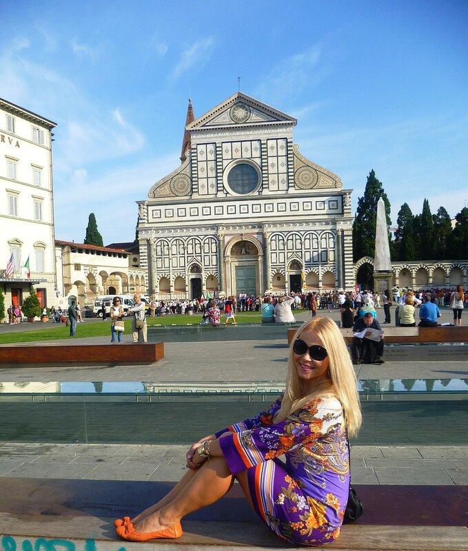 Италия, Флоренция - церковь Санта-Мария-Новелла (Italy, Florence - Church of Santa Maria Novella)