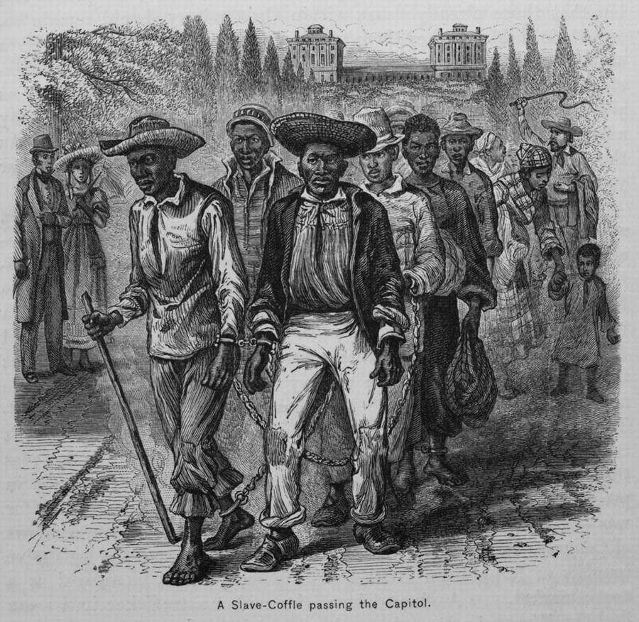 Кандалы и цепи на рабах фото 696-25