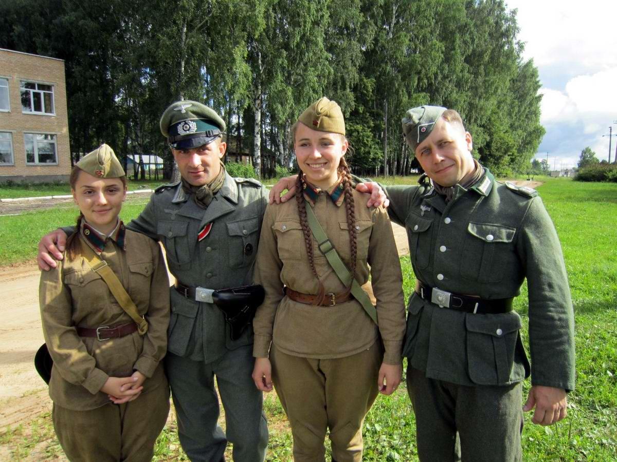 Забавные моменты из жизни военных реконструкторов (1)
