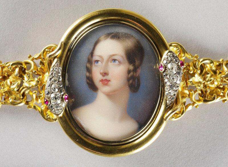 Queen Victoria (1819-1901)  c. 1839
