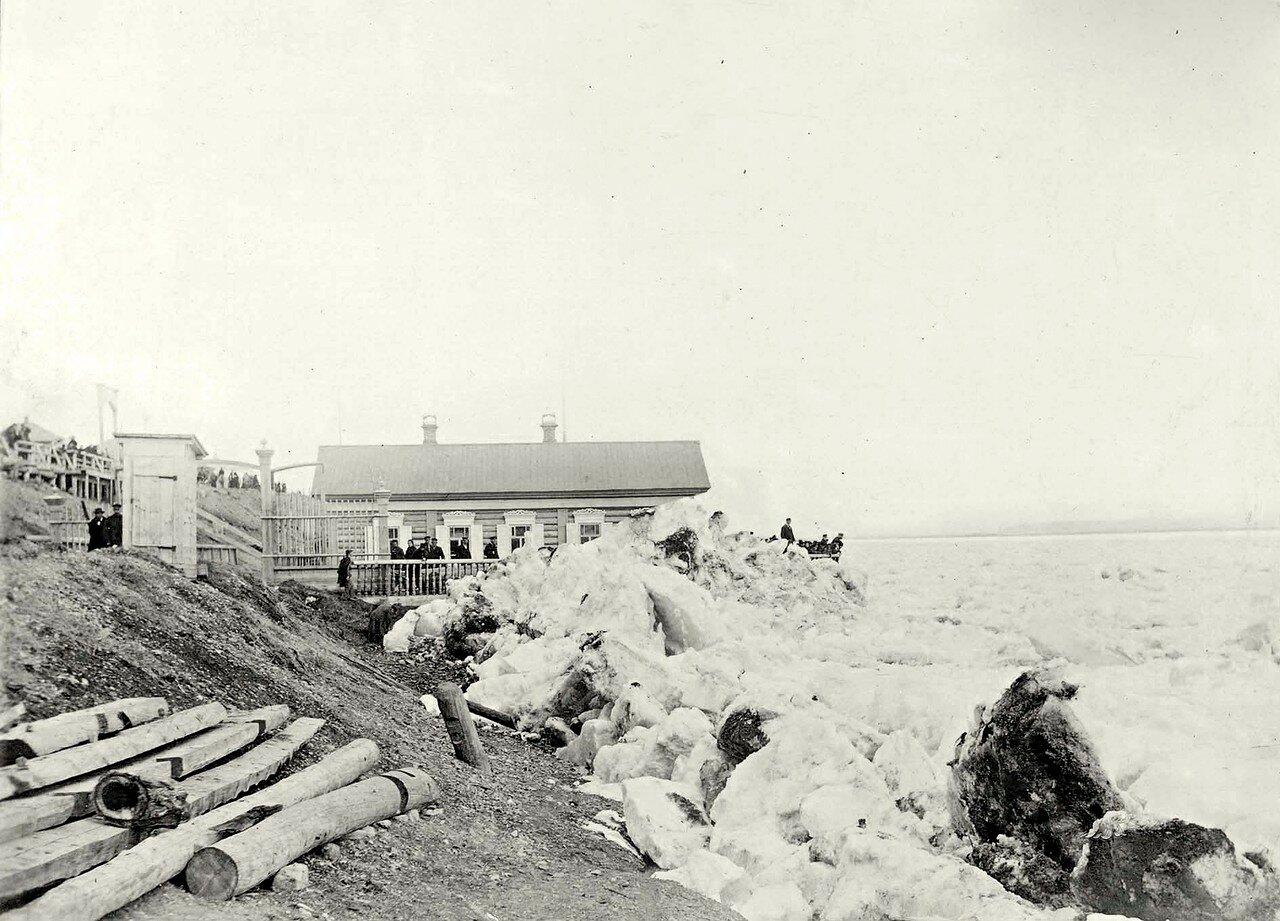 Ледоход на Енисее. 1889
